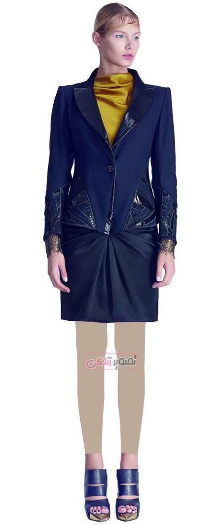 مدل کت و دامن مجلسی زنانه - لباس مجلسی دخترانه