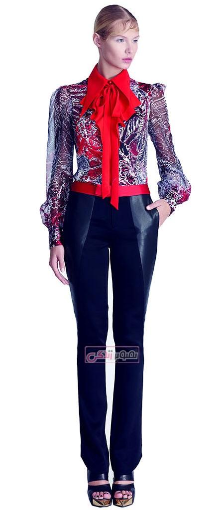 مدل لباس مجلسی دخترانه , مدل بلوز شلوار مجلسی , scfashion