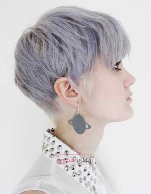 مدل کوتاهی مو,مدل موی فشن, مدل رنگ مو,هایلایت مو