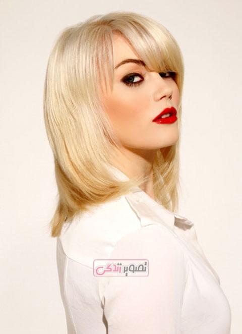 مدل جدید موی متوسط زنانه
