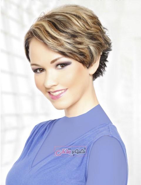 آرایش و زیبایی مدل و آرایش مو  , مدلهای جدید موی کوتاه زنانه (1)