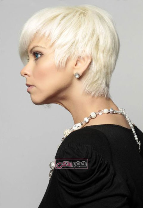 مدل موی کوتاه دخترانه - هرکات مو - موی فشن