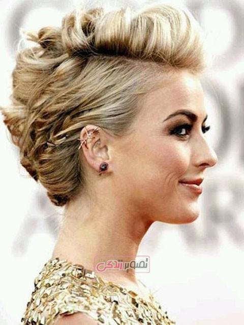 موی کوتاه برای صورت گرد,مدل موی کوتاه 2015