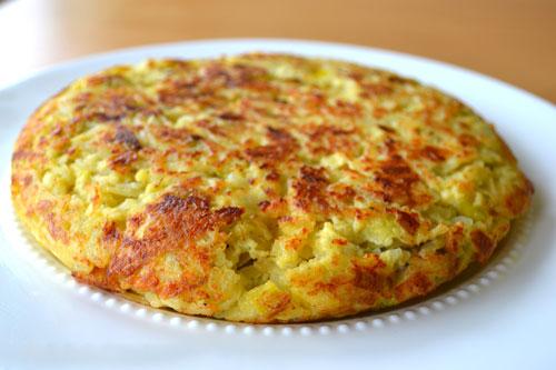 طرز تهیه تورتیلای اسپانیایی
