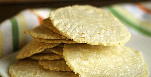 طرز تهیه نان ترتیلا - نان ترتیا - نان تورتیلا
