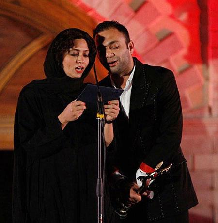 صابر ابر - پگاه آهنگرانی - چهره ها در روز ملی سینما