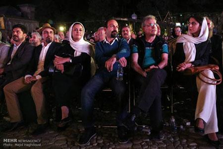 لیلا حاتمی، اصغر فرهادی، مریلا زارعی و رضا عطاران