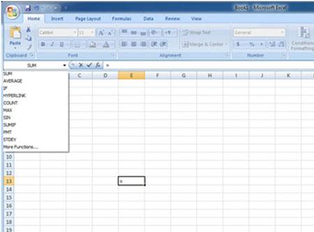 دانستنی ها کامپیوتر  , آموزش Excel : توابع ریاضی و فرمول های اکسل