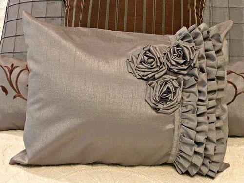 آموزش خیاطی  , انواع مدل کوسن فانتزی گرد و چهارگوش جدید و شیک برای مبل