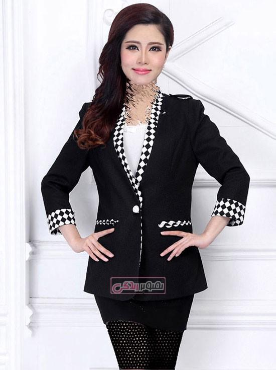 لباس زنانه - انواع مدل کت زنانه - مدل کت مجلسی زنانه
