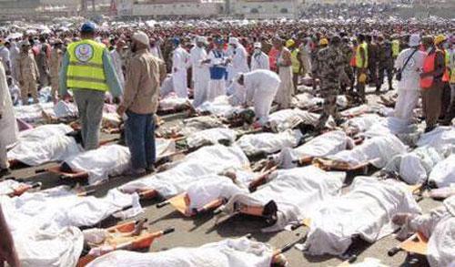 آخرین اخبار حادثه منا - جان باختن 1300 زائر + عکس + فیلم
