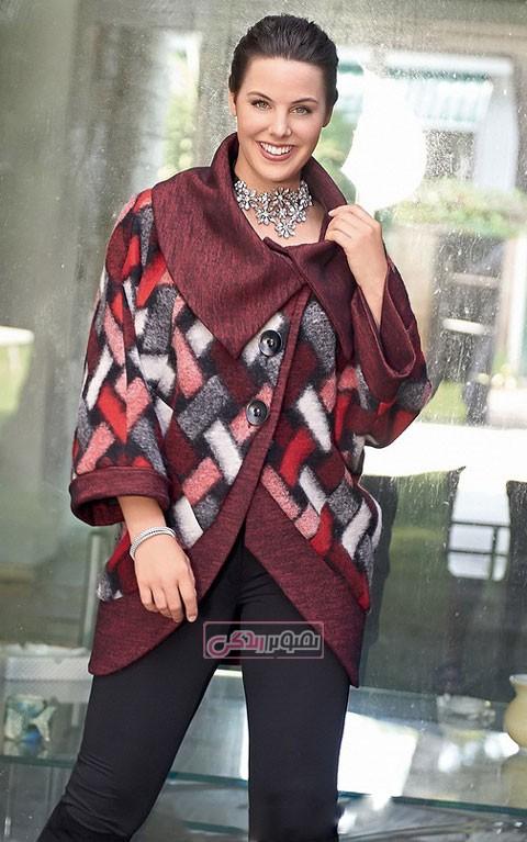مدل های زیبای کت و پالتو زنانه , مدل لباس زمستانی , پالتو پشم زنانه