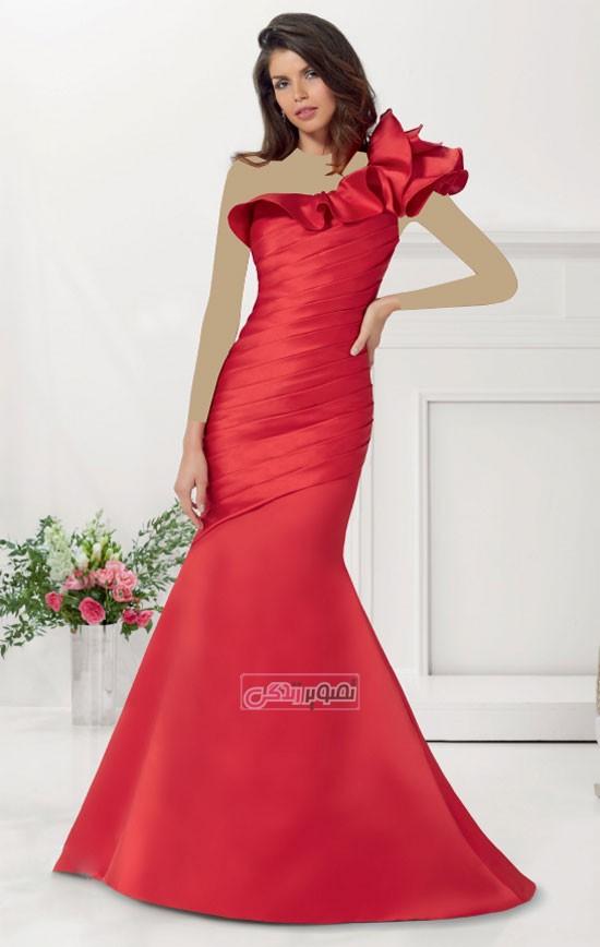 زیباترین مدلهای لباس مجلسی 2016 و 2015