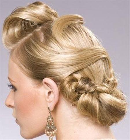 شینیون موی 2015 - مدل آرایش موی زنانه