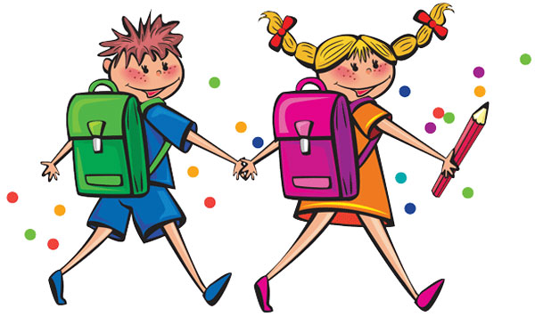 کارت تبریک آغاز سال تحصیلی, کارت پستال بازشدن مدارس