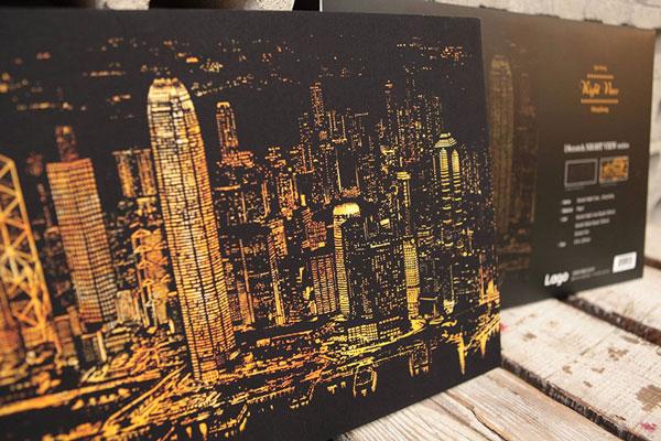 خلاقیت گروه لاگو در طراحی مناظری از شب در شهرهای بزرگ دنیا