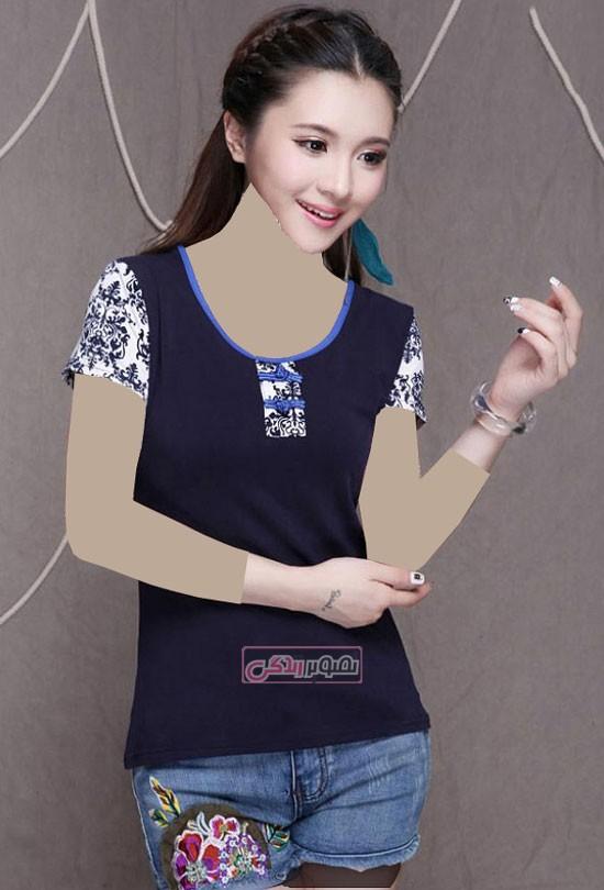 مدل جدید تی شرت دخترانه