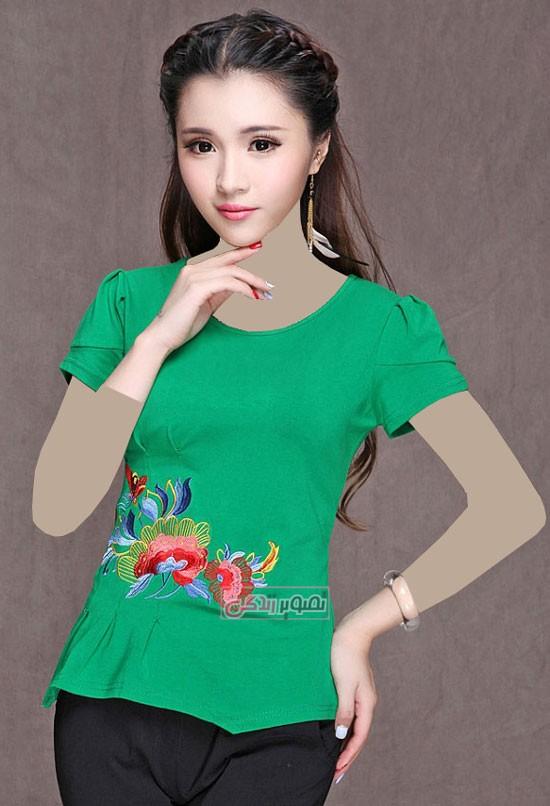 مدل جدید تی شرت زنانه - تی شرت های شیک و دخترانه