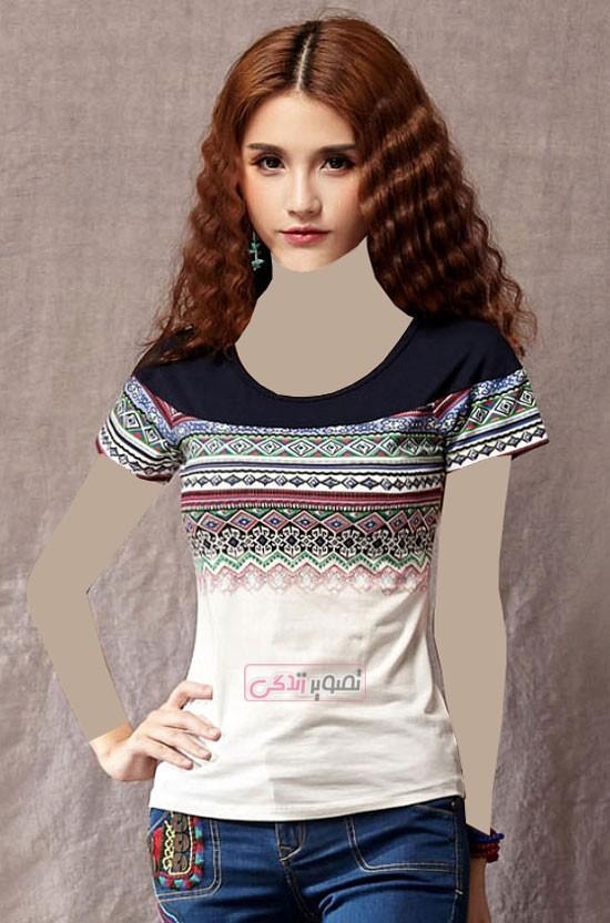 مدل جدید تی شرت زنانه