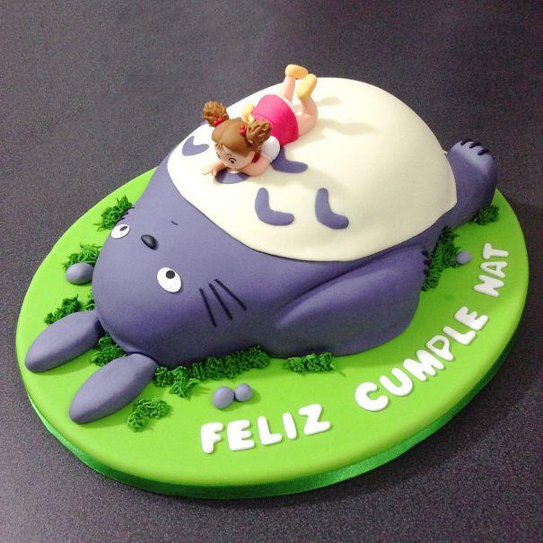 تزیین زیبای کیک تولد - تزیین کیک