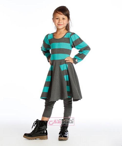 مدل لباس پاییزی دخترانه - لباس بچگانه