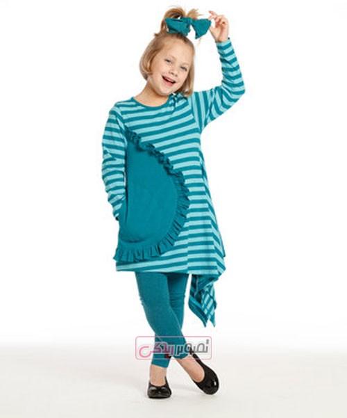 مدل لباس پاییزی بچگانه - لباس دخترانه