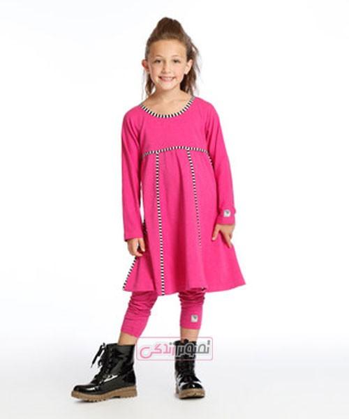 مدل لباس پاییزی بچگانه - مدل پبراهن دخترانه پاییزی 2016
