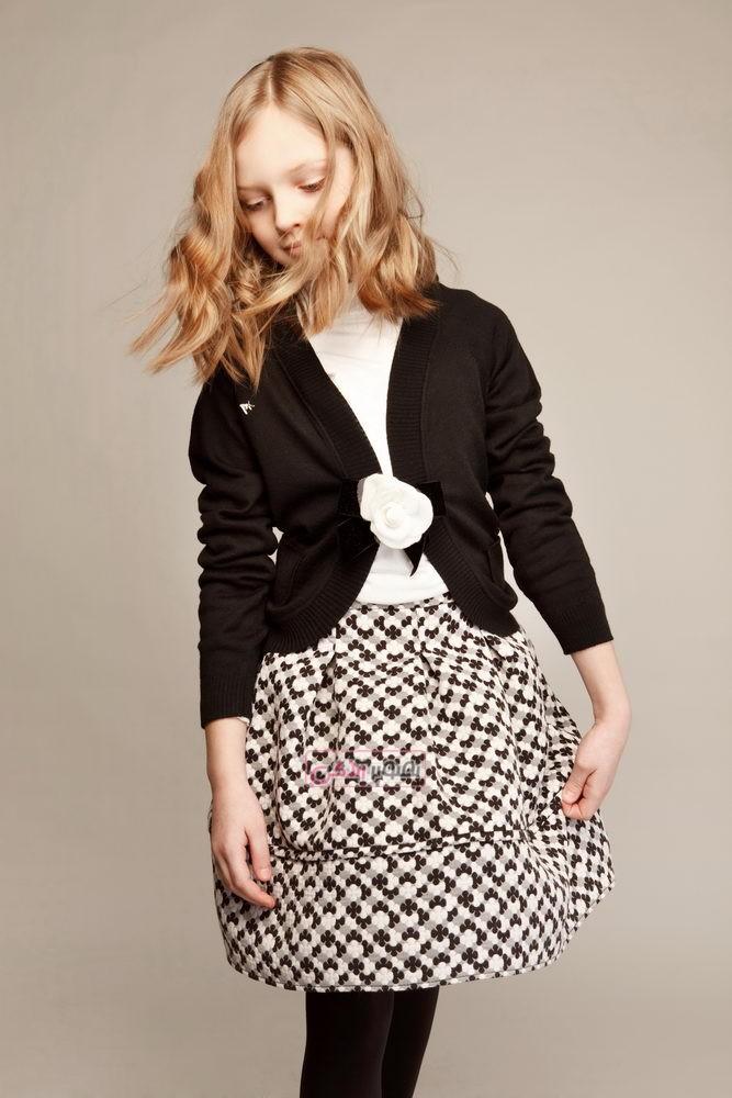 مدل لباس پاییزی دخترانه - پیراهن پاییزه دخترانه
