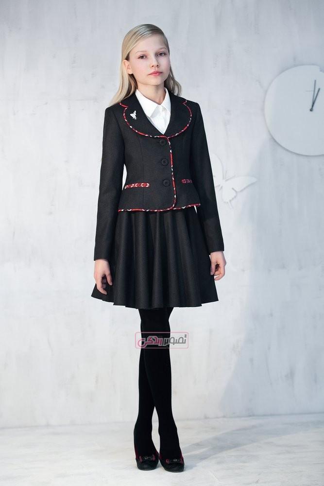 مدل کت و دامن پاییزی دخترانه - لباس پاییزه دخترانه