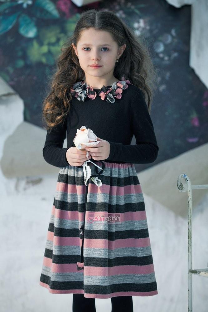 مدل پیراهن پاییزی دخترانه - لباس پاییزه دخترانه