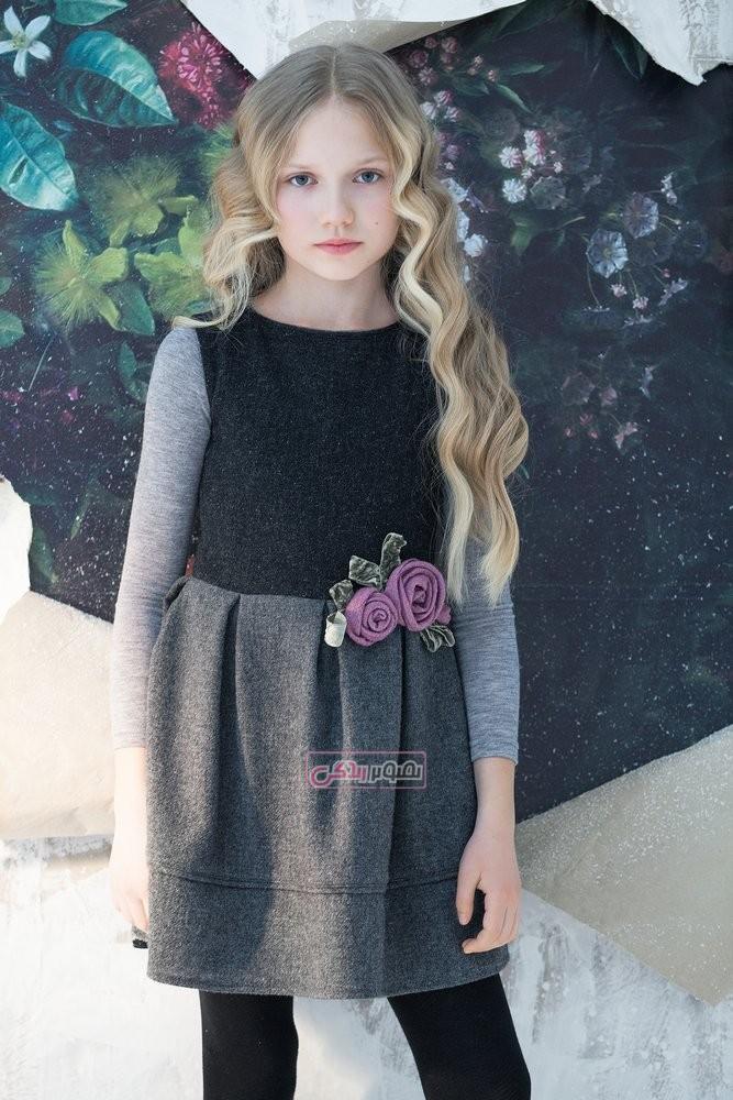مدل لباس مجلسی دخترانه - لباس پاییزه دخترانه