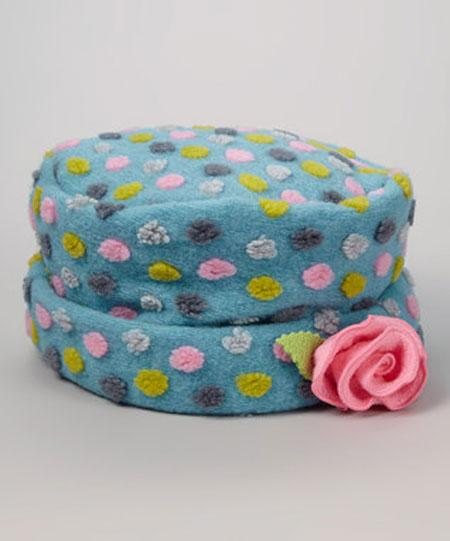 لبای دخترانه پاییزی - مدل کلاه دخترانه