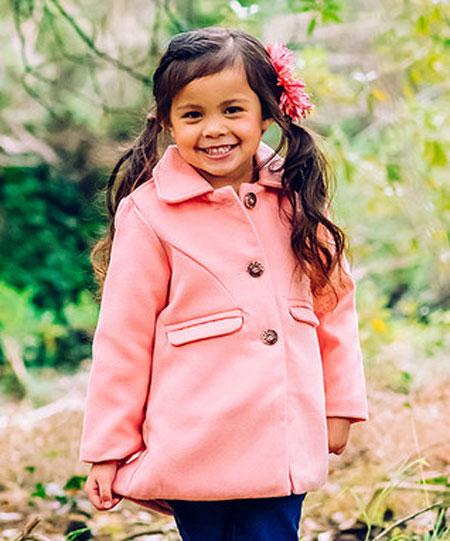 پیراهن دخترانه پاییزی - مدل پالتو دخترانه