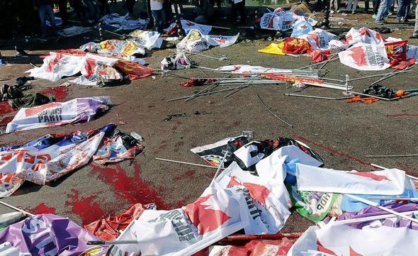 انفجار بمب در آنکارا