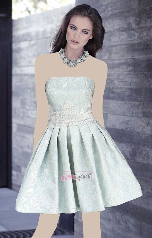 مدل لباس مجلسی زنانه کارلا رویز
