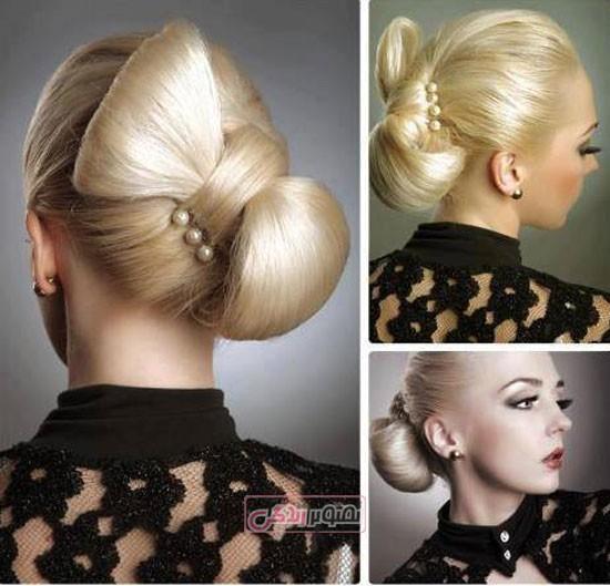 مدل جدید شینیون مو - مدل آرایش مو