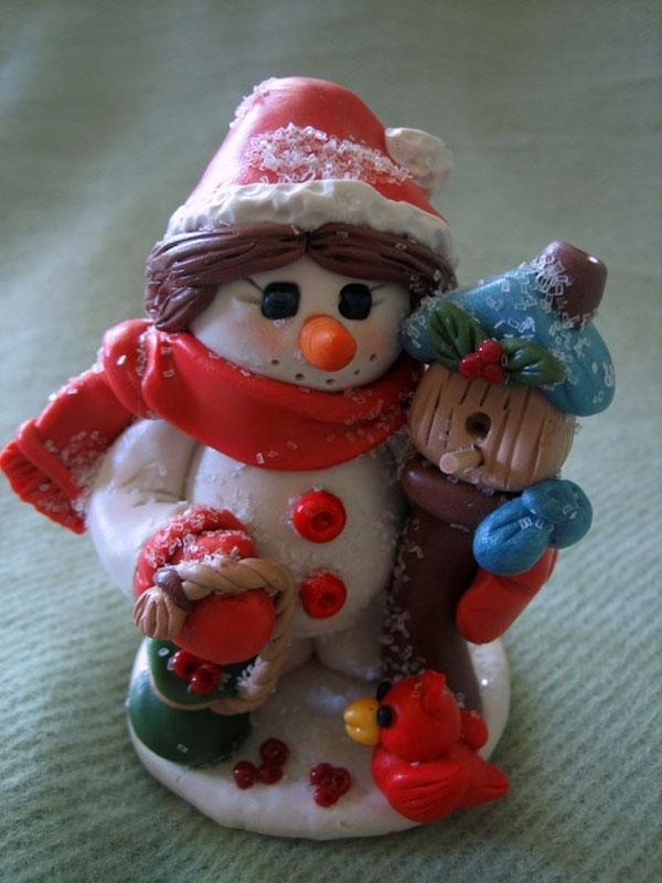 عروسک های خمیری فانتزی و زیبا - مجسمه خمیری