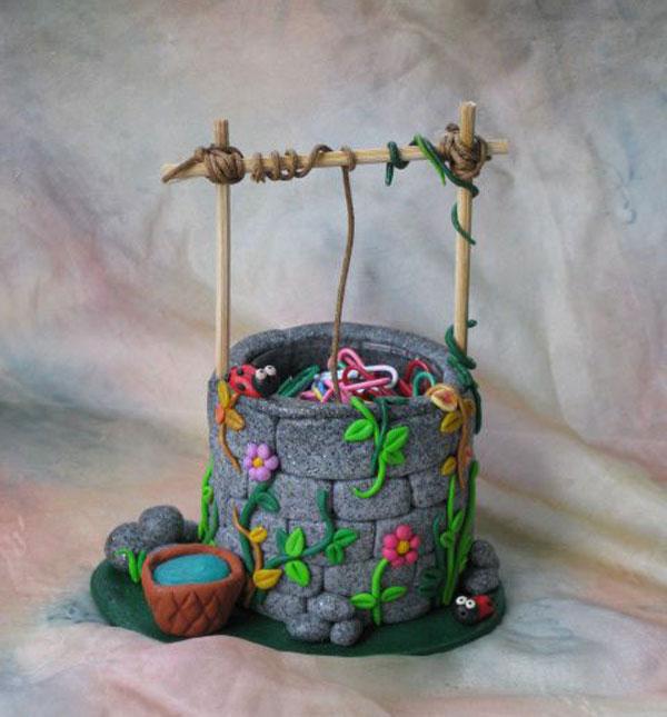 عروسک خمیری - مجسمه خمیری فانتزی - خمیر ایتالیایی