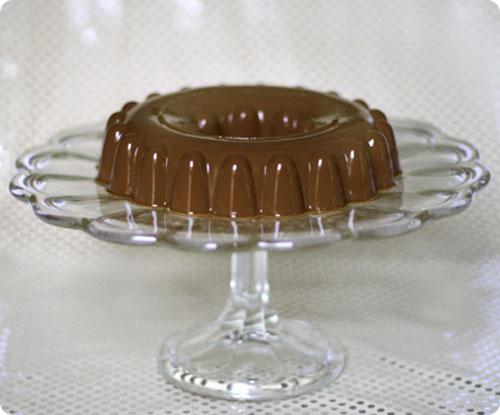 آشپزی آسان نان، شیرینی، دسر  , طرز تهیه ژله شکلاتی (دسر شکلاتی )