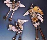 زیورآلات با طرح پرنده