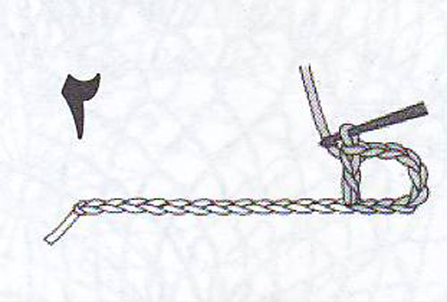 آموزش قلاب بافی - تور بافی - مربع بافی