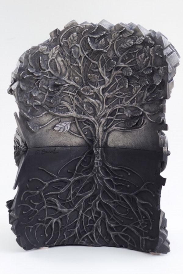 مجسمه های زیبای فولادی اثر گیل بروول هنرمند استرالیایی