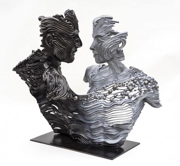 مجسمه های باشکوه فولادی اثر گیل بروول هنرمند استرالیایی