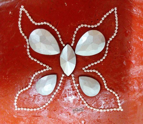 آموزش ساخت تاج ژله ای - ساخت تل سر پروانه