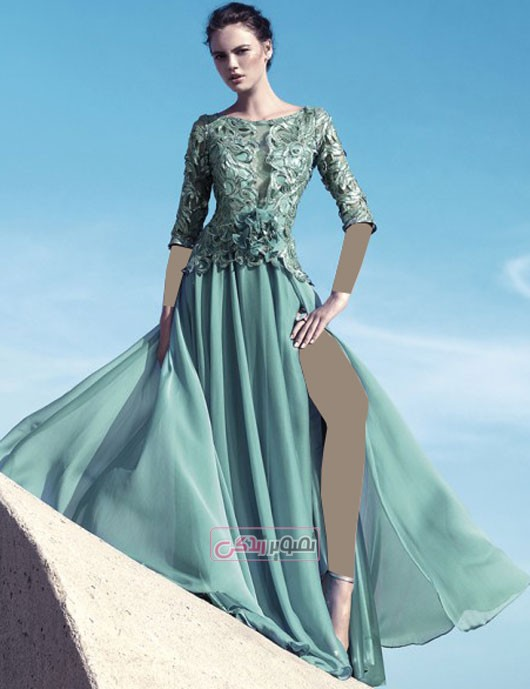 مدل لباس مجلسی گیپور - لباس مجلسی 2016
