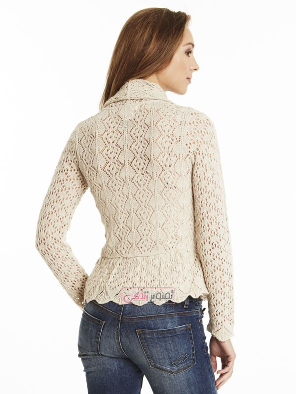 مدل بلوز بافتنی - بلوز دستباف - مدل لباس بافتنی زنانه