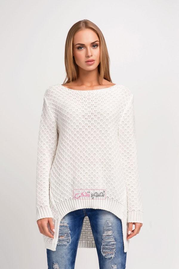 مدل بلوز بافتنی - بلوز دستباف - مدل لباس بافتنی