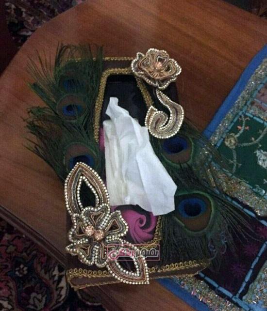نمونه کار عثمان دوزی - شفق دوزی