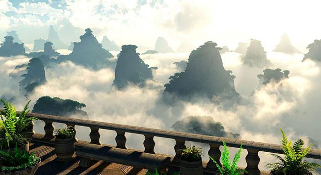 طبیعت زیبای کشور چین - مکانهای دیدنی چین