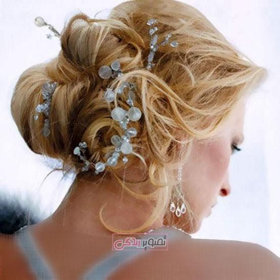 آرایش موی عروس - شینیون عروس